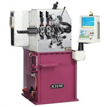CNC Compression Coiling Machine - KHM CMF-16E
