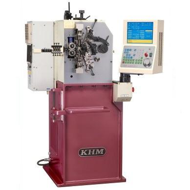 CNC Compression Coiling Machine - KHM CMF-8E
