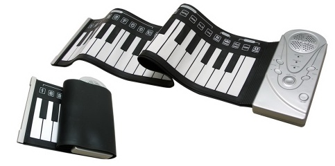 roll up piano ,flxexible keyboard - pinao