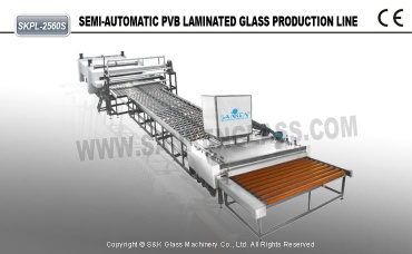 semi-automatic  pvb laminating machine for bullet-proof glass