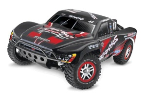 Traxxas Slash 4X4 Brushless 1/10 4WD Short Course Truck with TQ 2.4Ghz Radio System