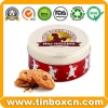 Round Mrs Higgins Biscuit Cookies Tin Box - BRT-1690