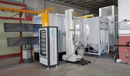 Automatic Powder Coating Spraybooth - Powder Coating Booth