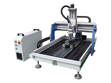 Mini Desktop CNC Router with 4th axis rotary - STM6090