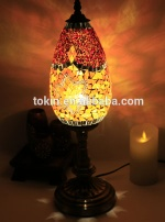 Amazing Tokin-Lighting (TC1L03) Handmade Mosaic Art Turkish LED Mosaic Table Lamps for Wholesale - TC1L03