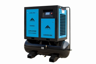 Industrial screw air compressor with servo motor inverter energy saving - APM-40A