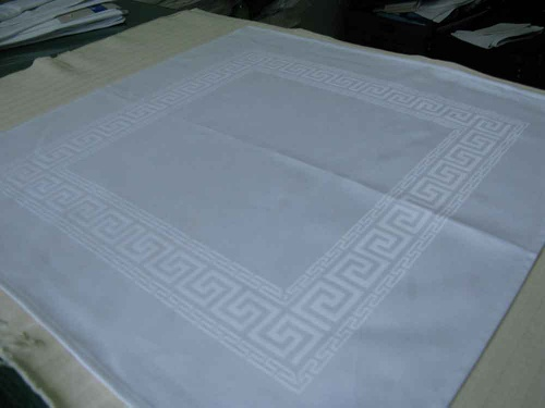 100% cotton Damask Table Cloth and Napkin cloth - guangdafz