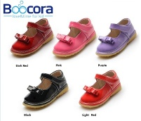 Wholesale High Quality Soft Sole Genuine Leather Baby Shoes - BOOCORA Kids shoes