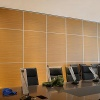 Soundproof Commercial Aluminium Frame Conference Room Sliding Wall Partition - 85 mm sliding wall