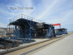 precast segmental assembly box girder formwork beam formwork for bridge construction - BY-1507