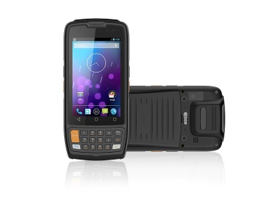 4 inch android handheld PDA rugged barcode scanner - 1