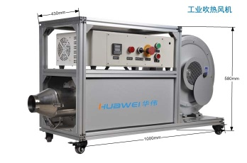 Industrial hot air blower  High air volume industrial hot air blower - HWIR2000F-150