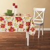 Tablecloth PE with Needle-punched Cotton Flower Square - Tablecloth