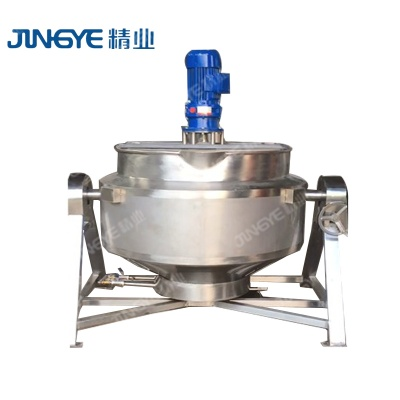 50 Gallon Peanut  Butter Electric Jacketed Kettle Jacketed Pot Steam making electric water cooking cooking jacketed kettle - 01