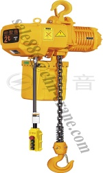 3 ton electric chain hoist with manual trolley - KF03-4115ES
