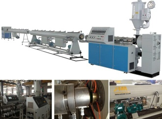 PE pipe extrusion line,pe pipe making line,pe pipe production line - PE pipe
