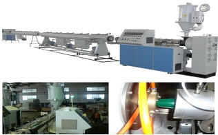 PPR glassfiber reinforced composite pipe extrusion line - PPR glassfiber pipe