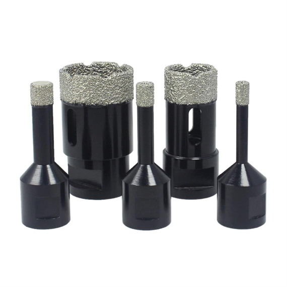 63mm M14 Vacuum Brazed Diamond Core Drill Bit for Granite, Marble - 1