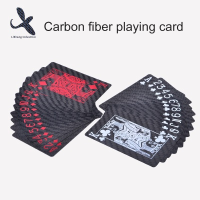 Top Quality 100% Carbon Fiber Playing Cards Poker For Entertainment - LS004