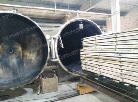 NEW Wood vacuum drying equipment - Wood vacuum drying