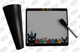 Magnetic Memo Board with Pen - 04