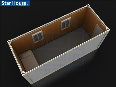 Flat pack single container house SH101 with CE,CSA,B.V.,AS certificate - 001