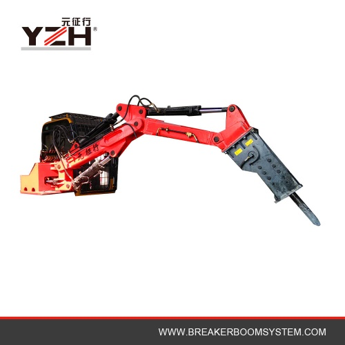 Hydraulic Rockbreaker Boom System For Jaw Crusher Sale - YZH