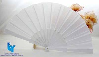 High Quality Bamboo Fabric/Paper Fan with(Custom-Made) - LY16117