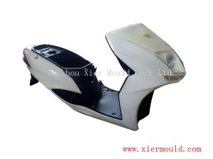 Plastic injection moulds for electric Vehicle parts, Scooter, Motorcycle, China mould supplier - XIERMOULD001
