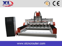 jinan 3 axis 4 axis cylindrical wood engraving cnc routers machine made in China - 01