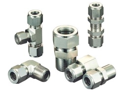 Swagelok standard Stainless steel  straight 90 elbow tee cross union hydraulic tube fittings - YC1