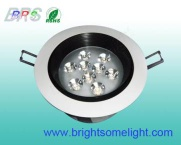 9W LED Recessed Light - BRS-DWW-1WR9-360