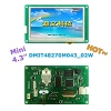 4.3 Inches, 480xRGBx272, Mini DGUS LCM, touch panel optional - DMT48270M043_02W