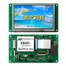 5.0 Inches, 480xRGBx272, Industrial DGUS LCM, touch panel optional - DMT48270T050_01W