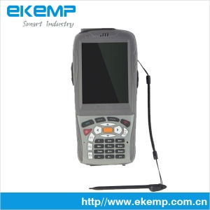 Industrial PDA with barcode scanner and RFID reader supports GPRS/WIFI - EM818