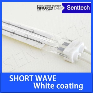 Short wave halogen lamp with ceramic reflector - SAKSWT