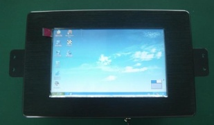 7 inch dustrial panel pc with 4xcom/digital IOs and 1xRs485 - pcm3-n270