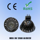 led 3w spotlight - MTO-MR16 3Wx1-A