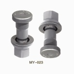 FRONT HUB BOLT WITH NUT FOR VOLVO - BOLT AND NUT