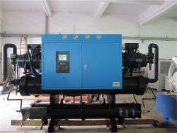 industrial screw water chiller - NWS-120WSCS