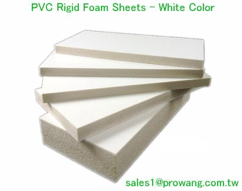 PVC Rigid Foam Sheets - White Color - PVC