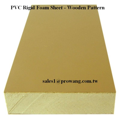 PVC Rigid Foam - Wooden Pattern 2 - PVC