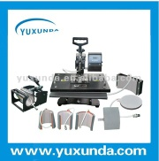 High quality Easy operation Combo 8 in 1 heat press machine / Sublimation machine / Heat transfer machine - YXD- 8 in 1