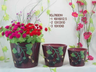flower arrangements pot - see photo