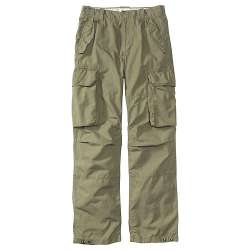 Men's Loose Fit Canvas Cargos