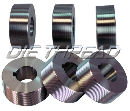 Cylindrical In-Feed/Plunge Thread Rolling Dies (DSCN0014