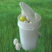 *Patent EZ Folding Lid Baseball Pails, Tennis Ball Pails, Softball Pails,buckets, boxes - CPK EZ3.5L-24L
