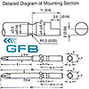 Electric Screw Driver Bit, Bit for Precision Screws - GFB P02-1