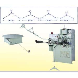 Wire Hanger Machine - Automatic Wire Hanger Making Machine - CHF-1